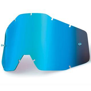 100% Accuri & Strata Youth Blue Mirror Lens