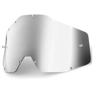 100% Accuri & Strata Youth Silver Mirror Lens