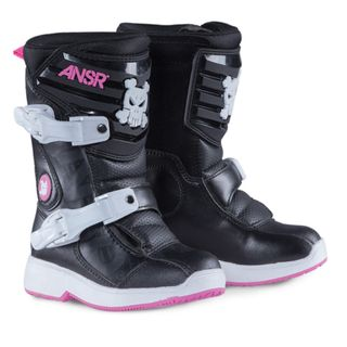 Answer A18 Pee-Wee Boot Black/Pink