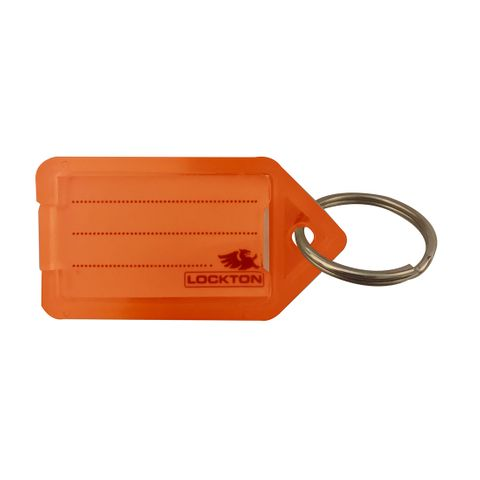 KEY TAGS *Orange* - Pkt of 20