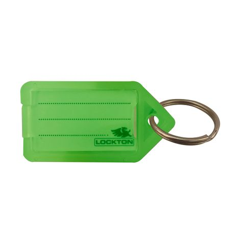 KEY TAGS *Green* - Pkt of 20