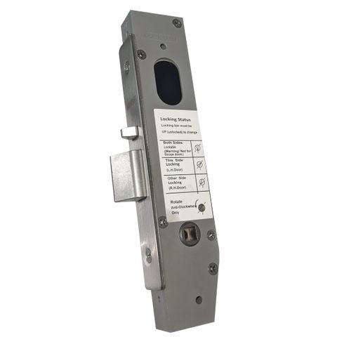 23mm BackSet MORTICE LOCK - Narrow Stile (Vestibule)