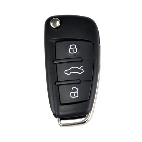 'B-Series' Flip Key REMOTE - AUDI Look - 3-Button (A6L)