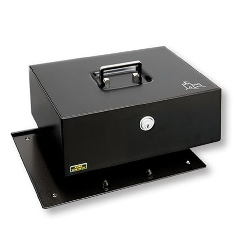 "'Royal' CASH BOX - 350mm (14"") - w/ Locking Base"
