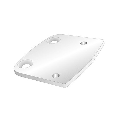 'winProtec' EXTENSION PLATE-1 - Slope 15% (Carded)