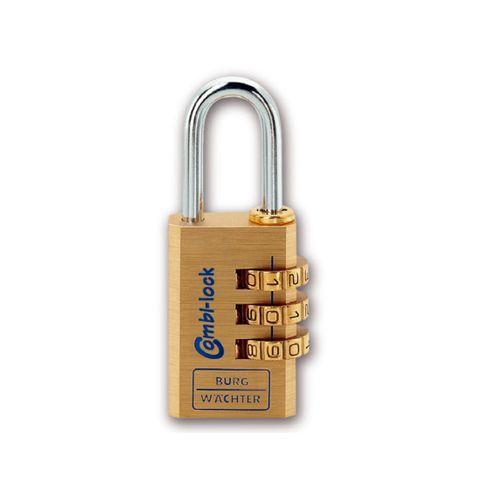 'Combi-Lock' 30mm  COMBI. PADLOCK - 3 Digit - CARDED