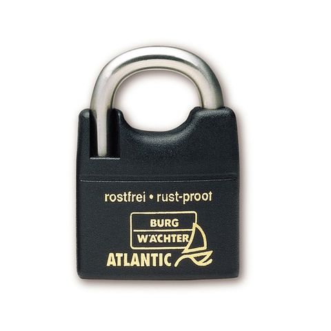 'Atlantic' 40mm  PADLOCK - CARDED  (KD)