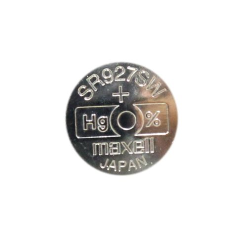'395' 1.55V Silver Oxide BUTTON BATTERY - Strip