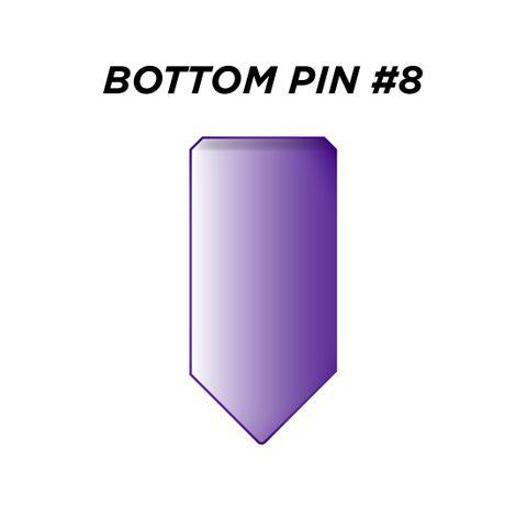 "BOTTOM PIN #8 *PURPLE* (0.270"") - Pkt of 144"