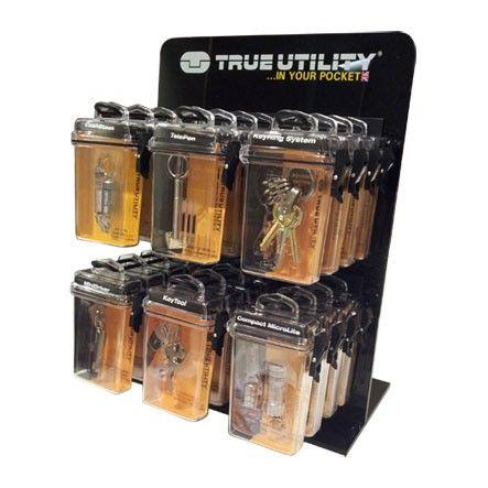 'True Utility' DISPLAY (Counter Top) 6-Hook *Empty*