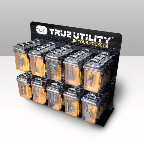 'True Utility' DISPLAY (Counter Top) 10-Hook *Empty*