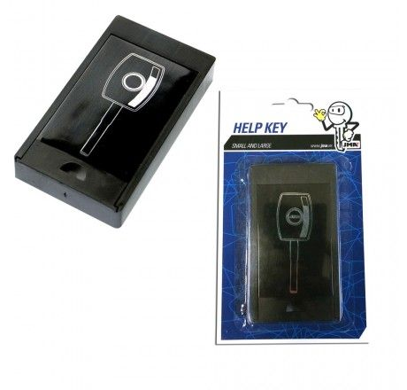 'Help Key' Magnetic HIDE KEY BOX - Large Size
