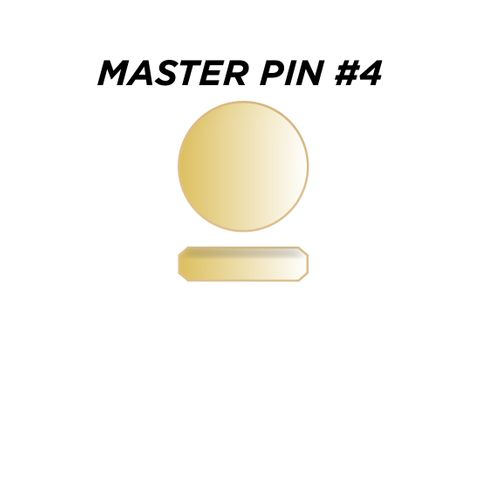 "MASTER PIN #4 *GOLD* (0.060"") - Pkt of 144"