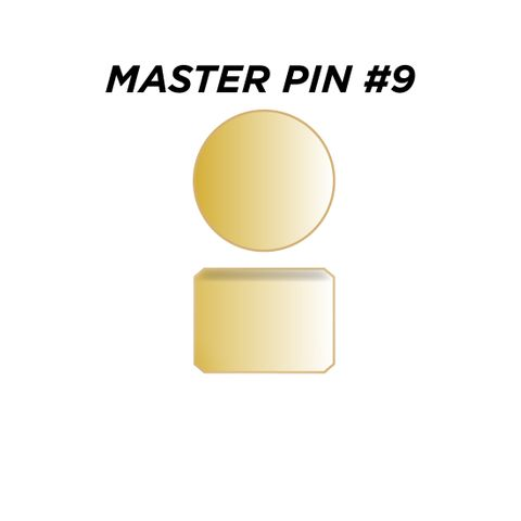 "MASTER PIN #9 *GOLD* (0.135"") - Pkt of 144"