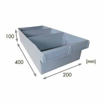 3-Compartment STORAGE TUB (Long/Wide)