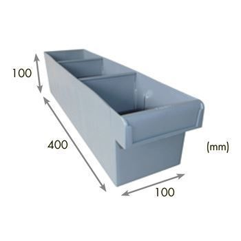 3-Compartment STORAGE TUB (Long/Narrow)