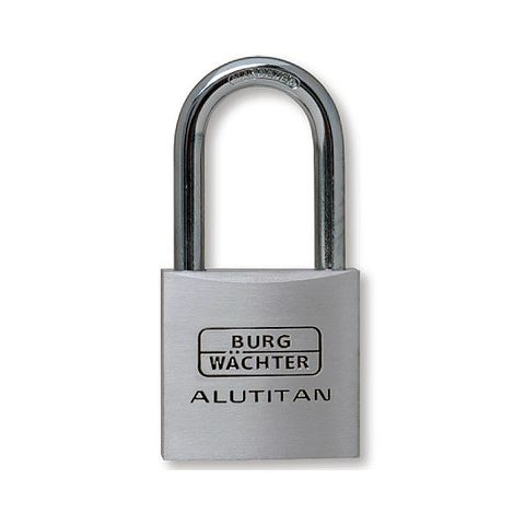 'Alutitan' 30/45mm L/SHACKLE PADLOCK - CARDED  (KD)
