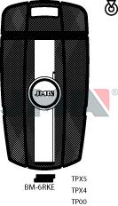 Transponder KEY - BMW FOB KEY (Like: HU92R)