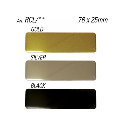 'Name Plates' LARGE - Pkt of 10