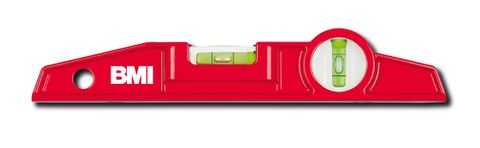 'Torpedo' Aluminium SPIRIT LEVEL - Magnetic w/ Belt Pouch (25 cm)