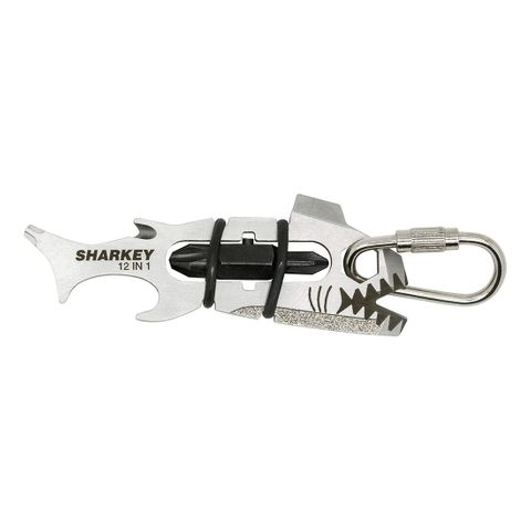 KEYRING 'SharKey' 12-Tools-In-1