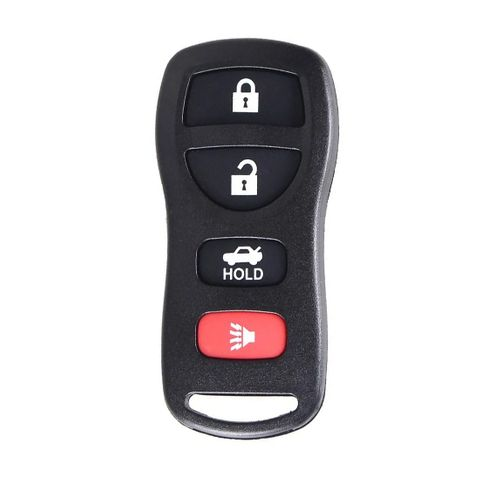 'XK-Series' NISSAN style - UNIVERSAL FOB REMOTE - 3-Button + 1 (00)