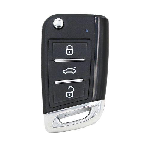'XS-Series' MQB style - UNIVERSAL SMART REMOTE ( Flip Key )- 3-Button