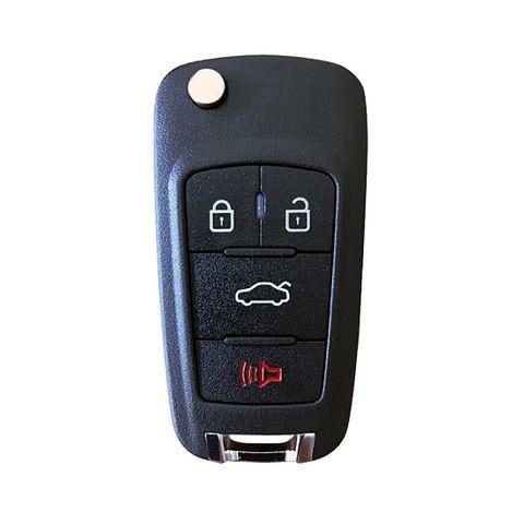 'XK-Series' GM style - UNIVERSAL FLIP BLADE REMOTE - 3-Button + 1 (01)