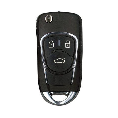 'XK-Series' GM style - UNIVERSAL FLIP BLADE REMOTE - 3-Button (03)
