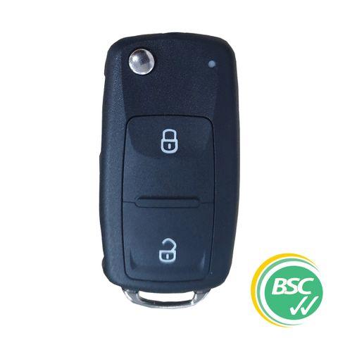 Remote Key - VW - 2 Button -AES- MQB48 - (Like: HU-HAA / HU66)
