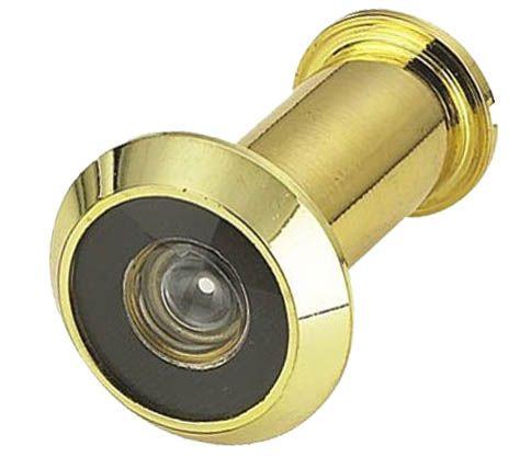 'SuperViewer' 200° DOOR VIEWER - 25-45mm Door (BRASS)