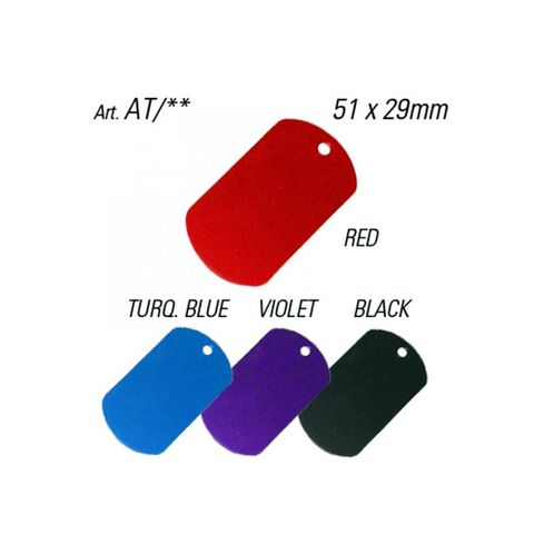 'Army Tags' - Pkt of 10