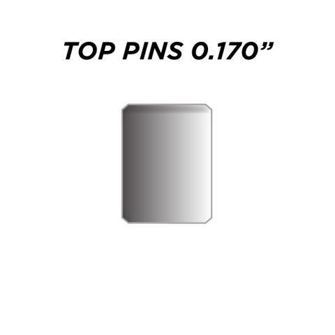 """TOP PIN *SILVER* (0.170"""") - Pkt of 144"""