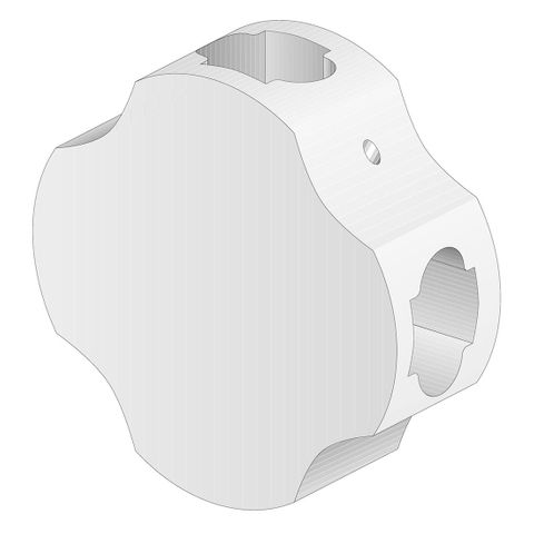 'winProtec' CROSS PIECE Connector (Carded)