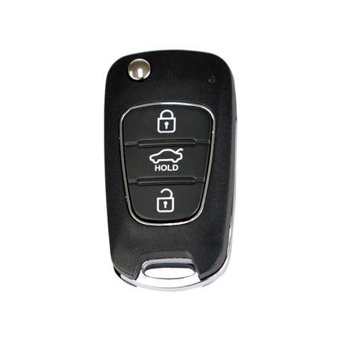 'B-Series' Flip Key REMOTE - HYUNDAI Look - 3-Button (B04)
