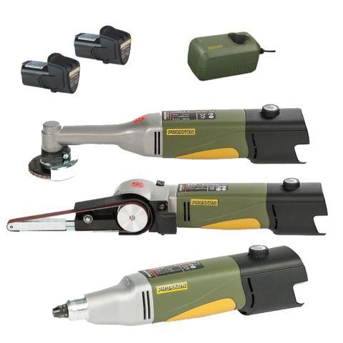 'Locksmith' 10.8v KIT - 3-Tools + 2-Batteries, Charger & Hard Case