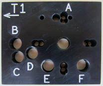 'MiniRig®' TEMPLATE - MULTIPLE COMBI. LOCKS