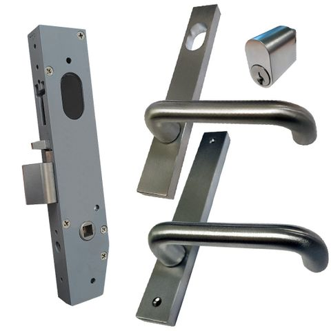23mm Mortice Lock KIT (CLASSROOM) - Inc. Lock, Furniture & Cylinder