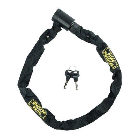 Hard. CHAIN -  6mm Sq. Dia. - 90cm Long *Key Lock*