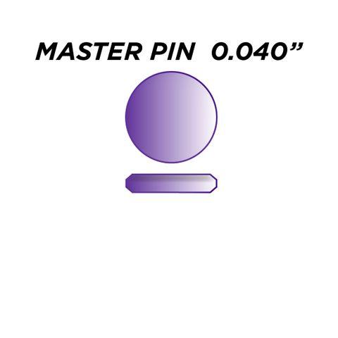 "SPEC. INC. MASTER PIN *PURPLE* (0.040"") - Pkt of 144"