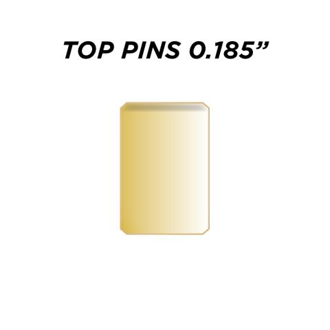 """TOP PIN * GOLD* (0.185"""") - Pkt of 144"""