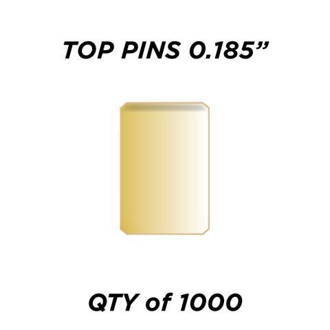 """TOP PIN * GOLD* (0.185"""") - QTY of 1000"""