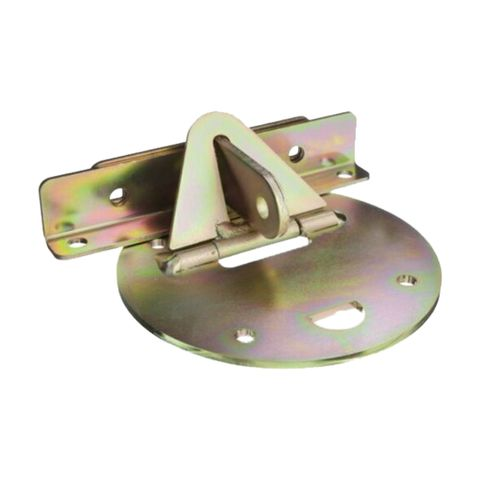 'Xtra-Lok' ROLLING DOOR LOCK (Round Plate) - INTERNAL