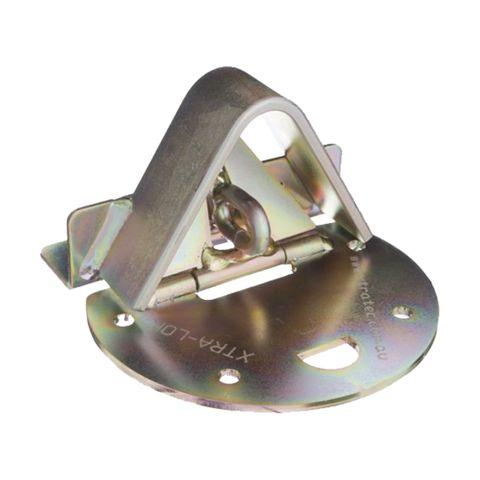'Xtra-Lok' ROLLING DOOR LOCK (Semi-Circ. Plate) - EXTERNAL