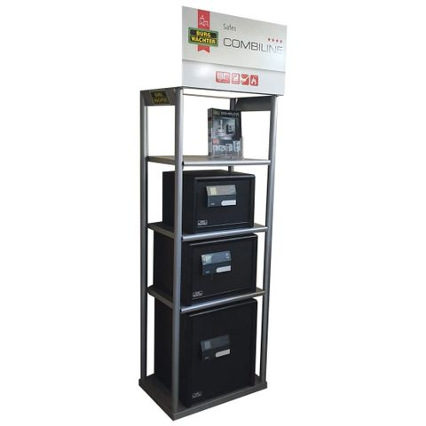 'Safe Centre' DISPLAY STAND for COMBI-LINE Range  *Empty*