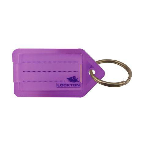KEY TAGS *Purple* - Pkt of 20