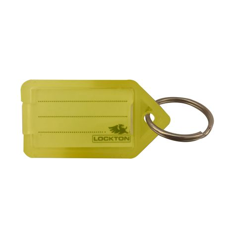 KEY TAGS *Yellow* - Pkt of 20