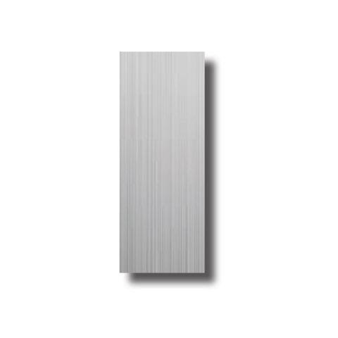 S/Steel BLANK PLATE - 190x75mm