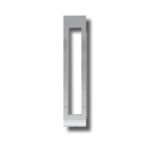 S/Steel SCAR PLATE - 200 x 36mm (Rectangle Cut-Out)