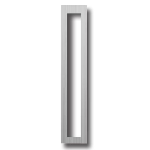 Aluminium SCAR PLATE - 250 x 36mm (Rectangle Cut-Out)